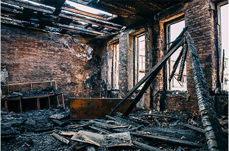 Downey-California-fire-damage-cleanup